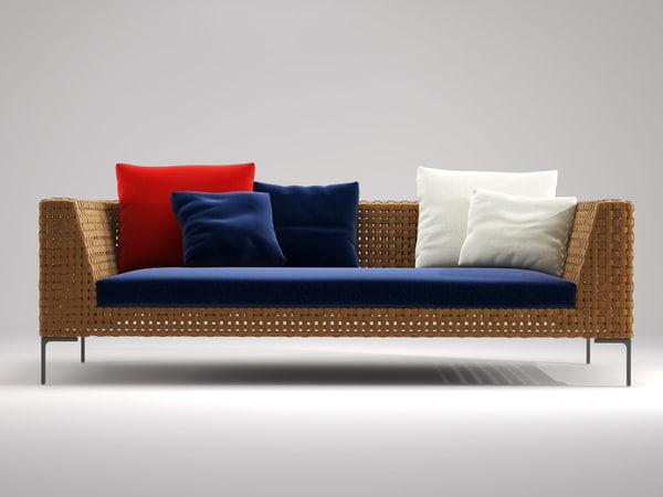 3D charles sofa