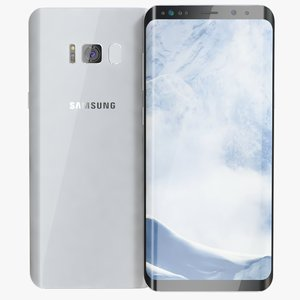 3D samsung galaxy s8 arctic model