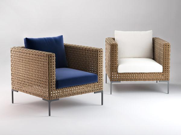 charles armchair 3D model