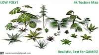 3D foliage