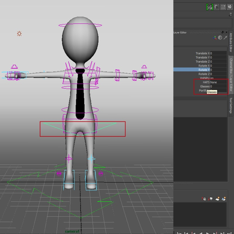 Stickman Rig for Animation