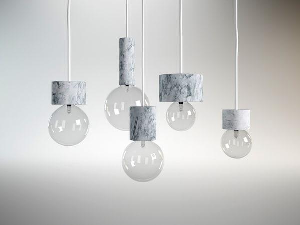 marble lights 3D