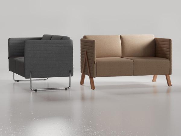 3D vision sofa model