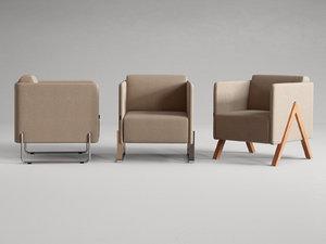 3D vision armchair