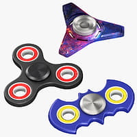 spinners fidget set 3D