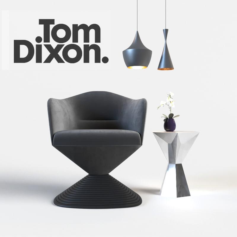 3D tom dixon chair