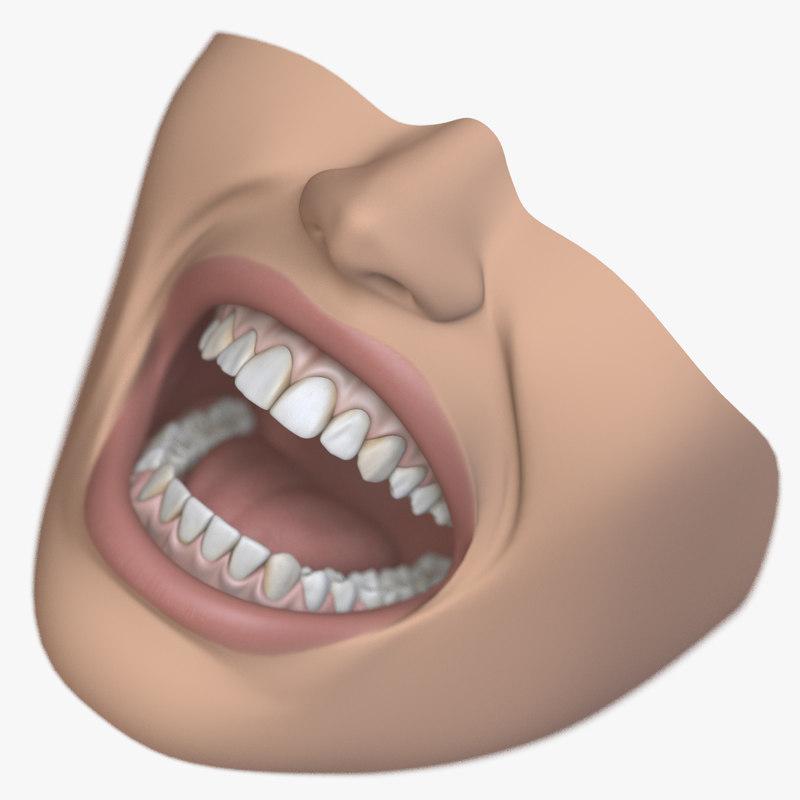 dental mouth 3D