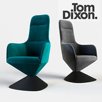 tom dixon chair 3D model