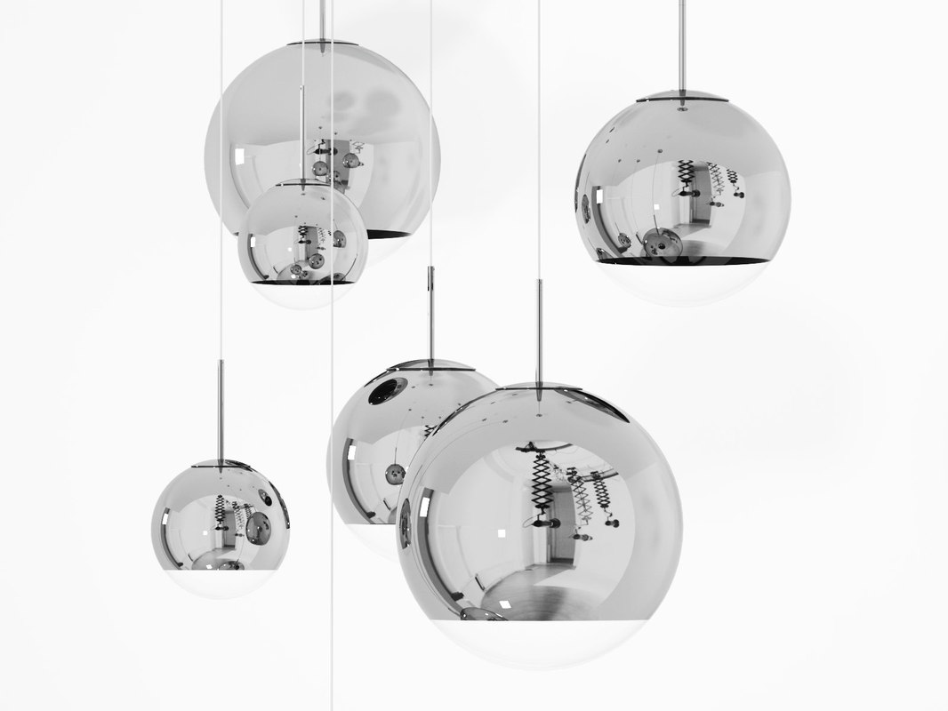 mirror ball pending 3D model