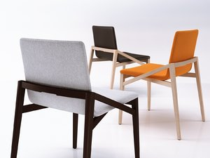 3D capita chair model