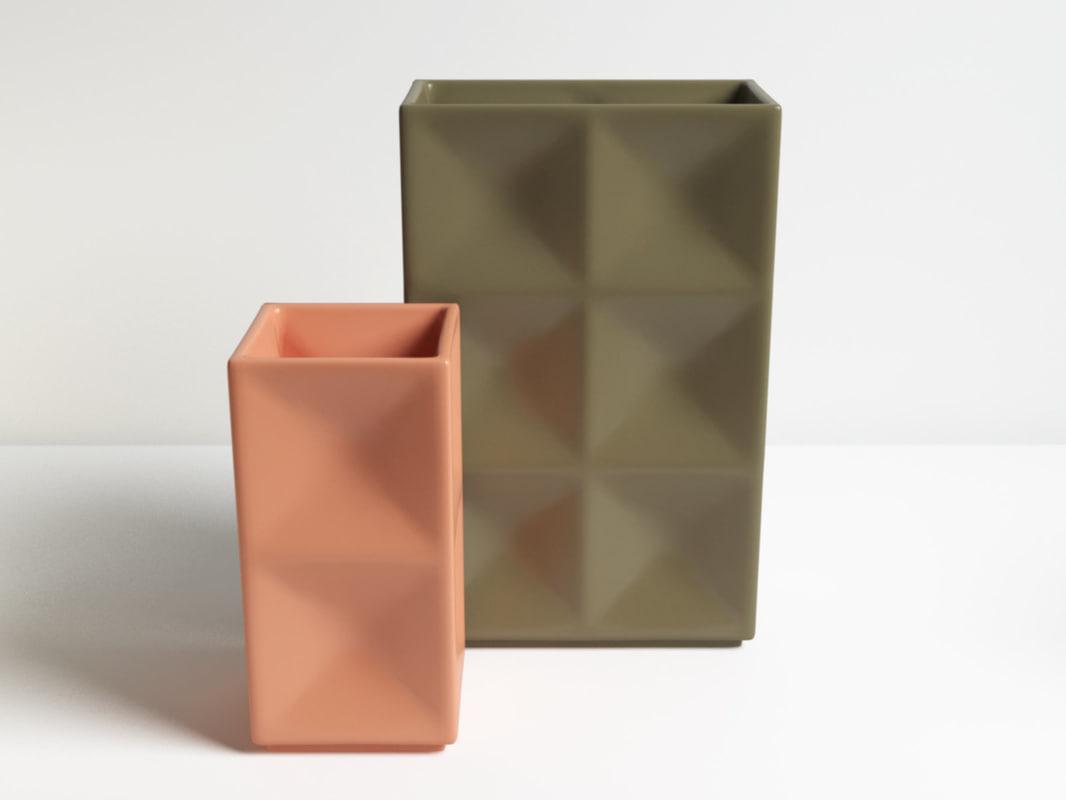 2d vase 3D model