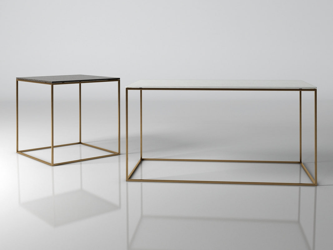 3D space coffee tables