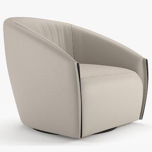 3D armchair bodo bonaldo