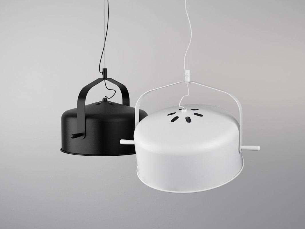 3D model bombay lights