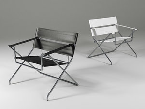 d4 bauhaus chair 3D