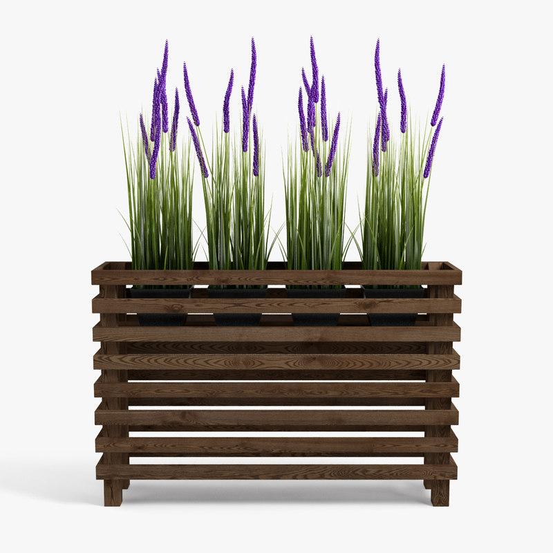 3D plants set 02