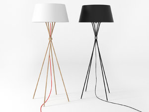 main floor lamp 3D