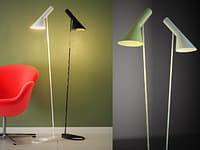 3D aj floor lamp
