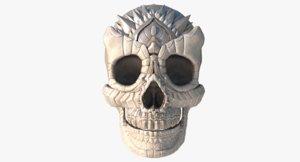 3D model skull ue4