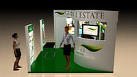 booth promotion design 3D model