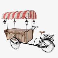bicycle cargo bikes milano 3D