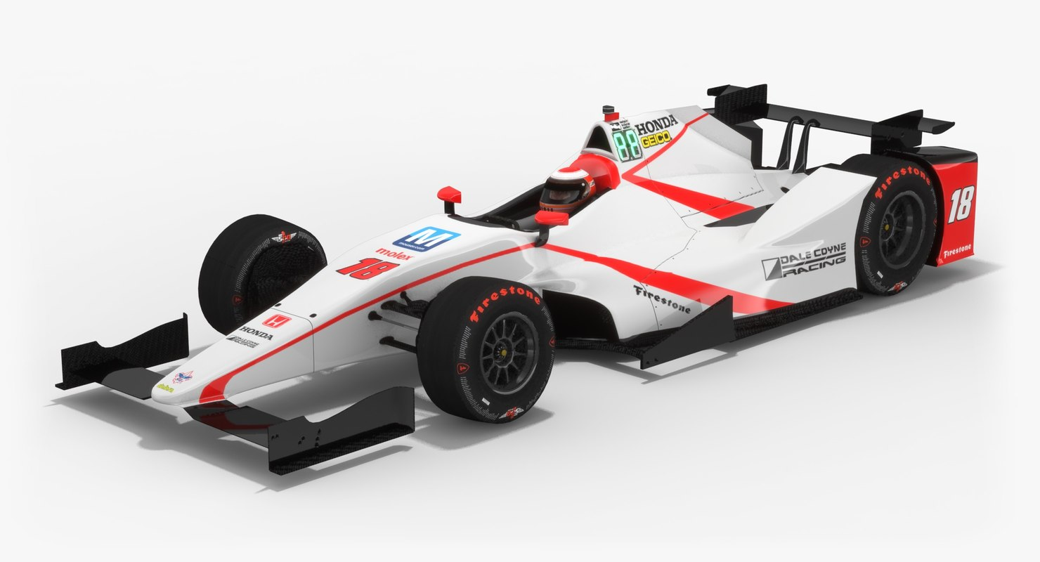 dale coyne racing indy 3D model
