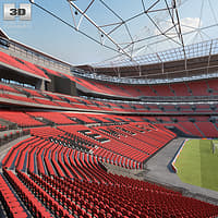 wembley stadium 3D
