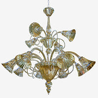 3D model chandeliers lights sylcom venier