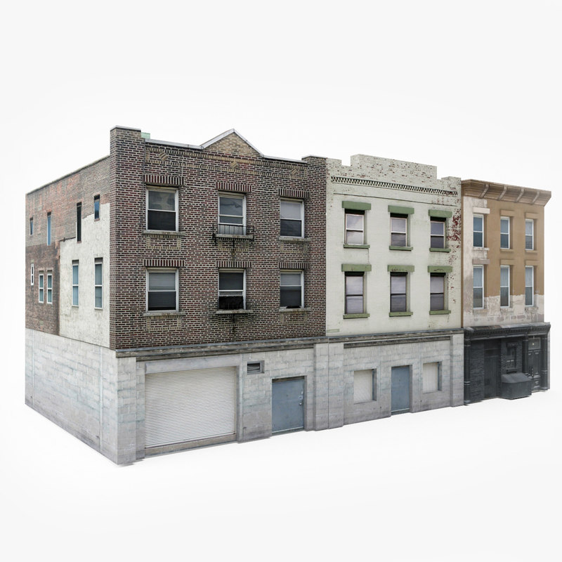 ready city building block 3D