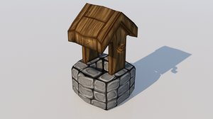medieval wishing 3D model