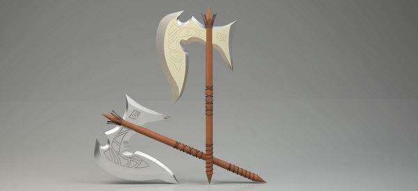 3D spear higth clear print