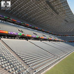 3D allianz arena model