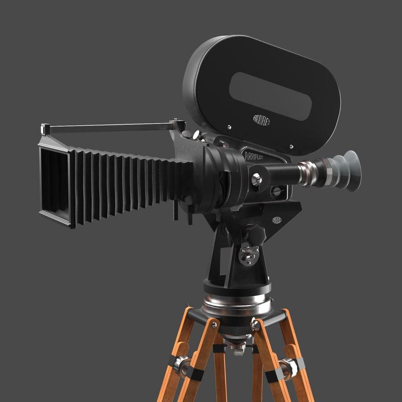 professional arriflex iic 3D