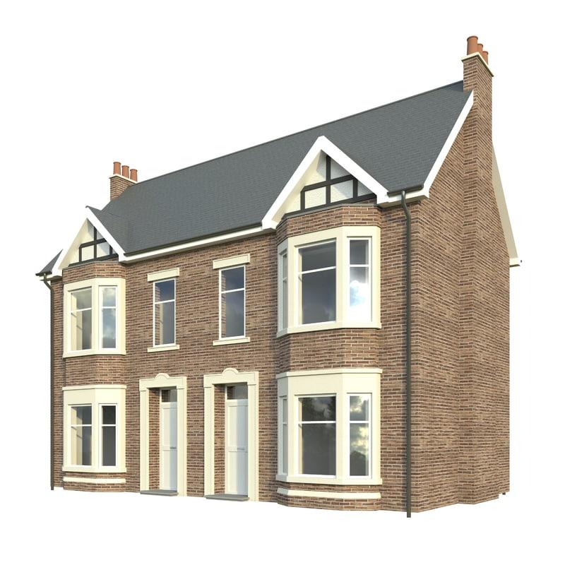 house victorian 3D model