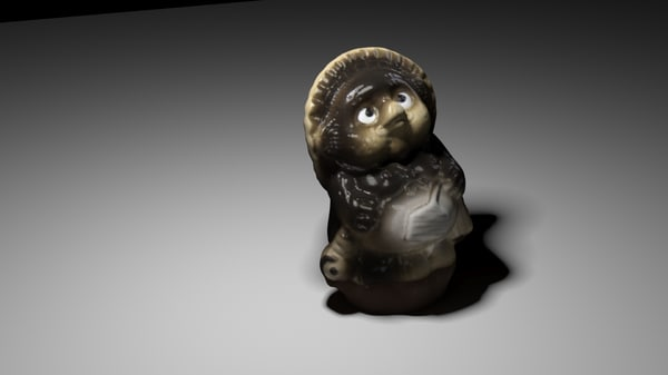 japanese ceramic ornament 3D model