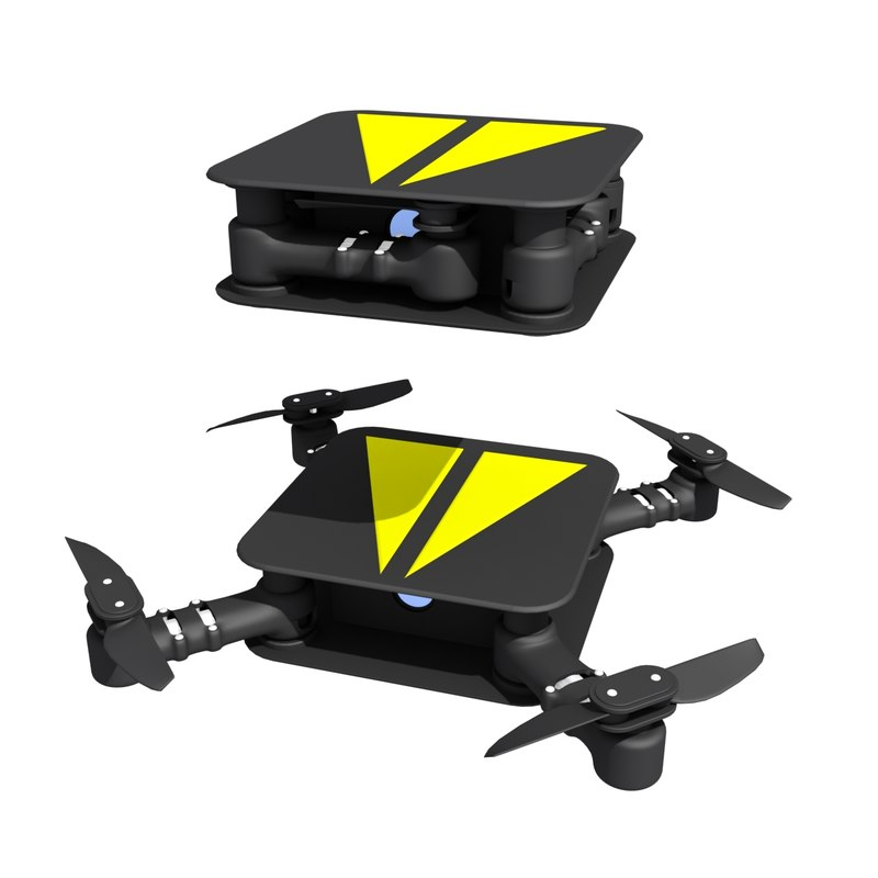 folding drone 3D