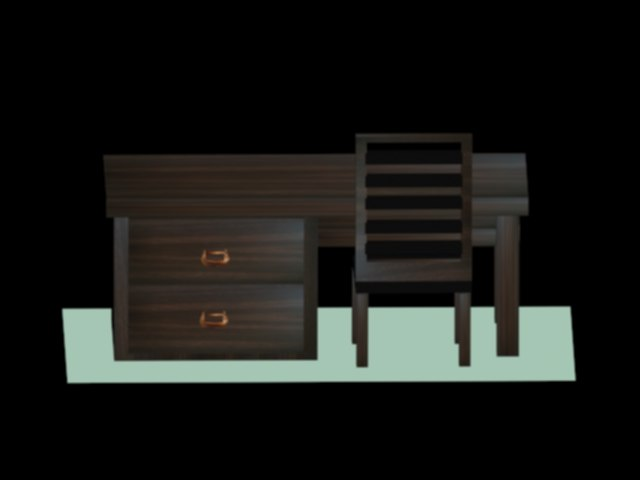 desk chair 3D model