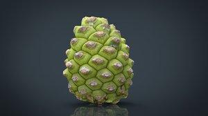 3D pinecone pine