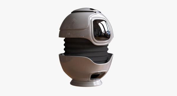 urn design 3D model