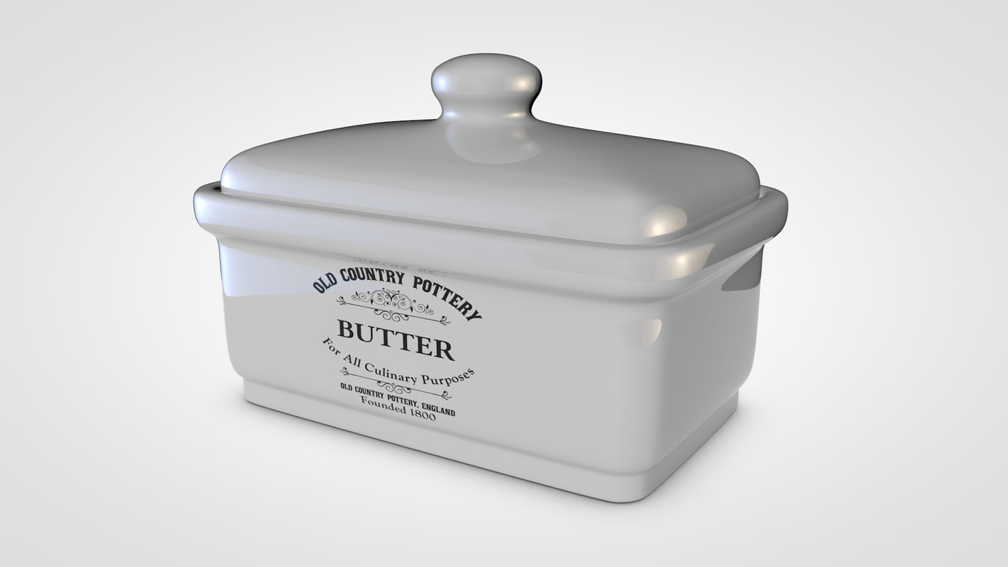country butter box model