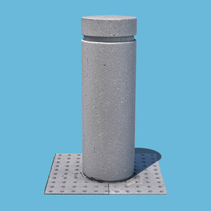 parking barrier scan 3D model