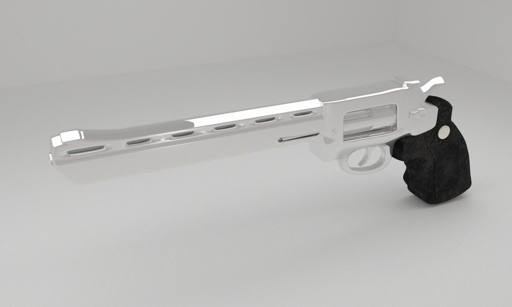 dan wesson 3D model