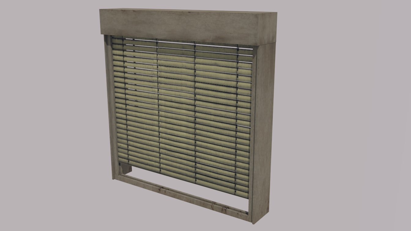 sunblind shade 3D model