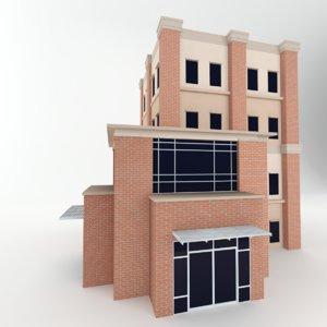 3D realistic build professionally model