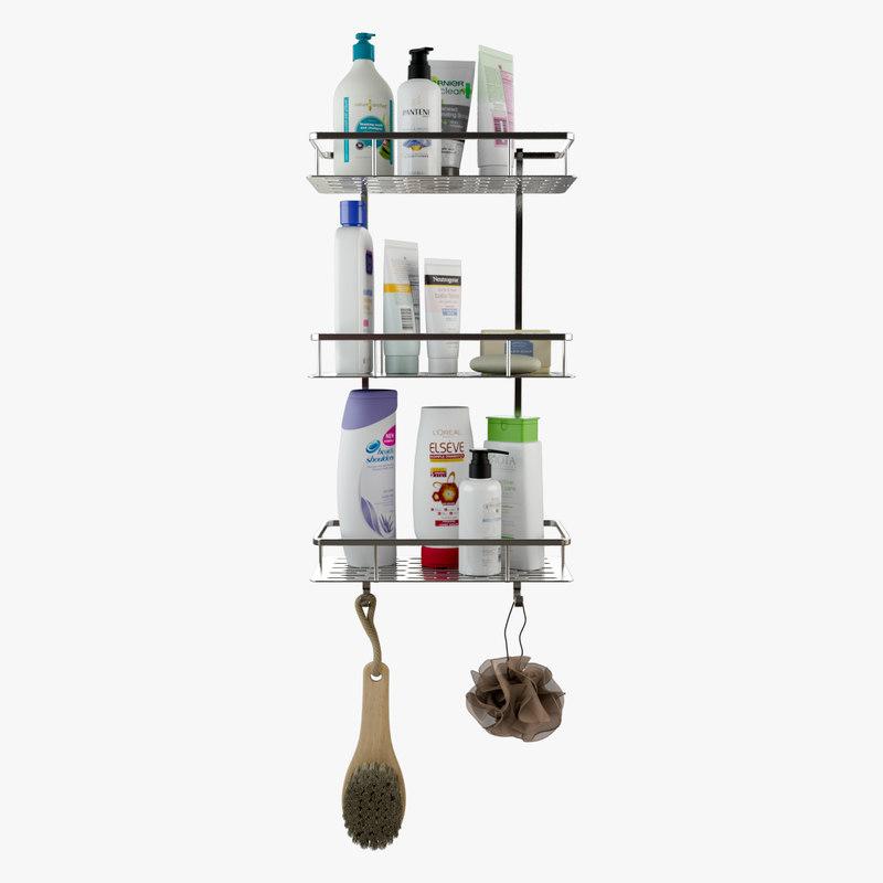 bathroom shower shelves model