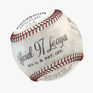 rawlings rolb official league 3D model