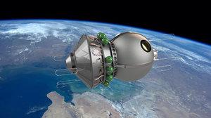 3D spacecraft vostok 1 space