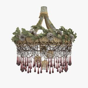 giovando iron flowers 1001 3D model