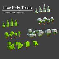 trees mobile 3D model