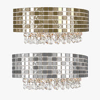 sconce 743622 bezazz lightstar 3D model